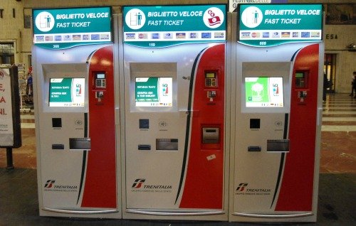 The dreaded TrenItalia machines that refuse to print out prepaid tickets now matter how much you try.