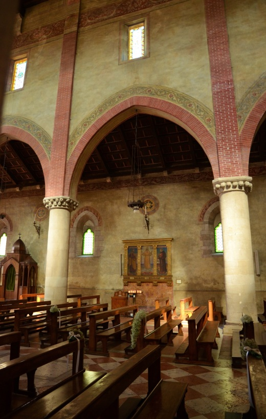 Follina Abbey interior