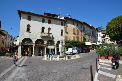 The main square in Asolo