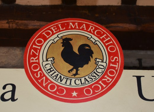 The black rooster, the symbol of Chianti Classico