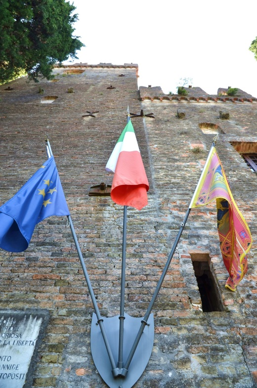 castle flags