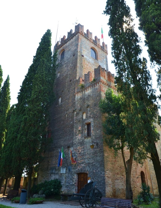 The old castle in Conegliano