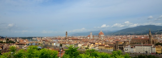 Florence, taken from the Piazzali Michelangelo