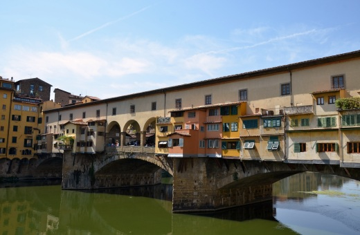The other side of the Ponte Vecchio