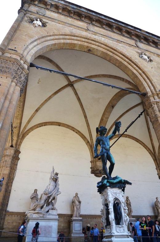 Statues in the Piazza Signoria