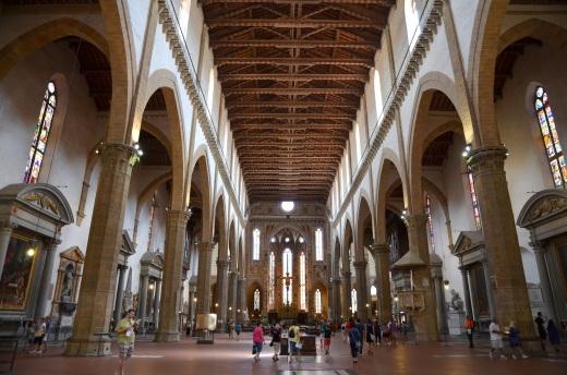 Santa Croce interior