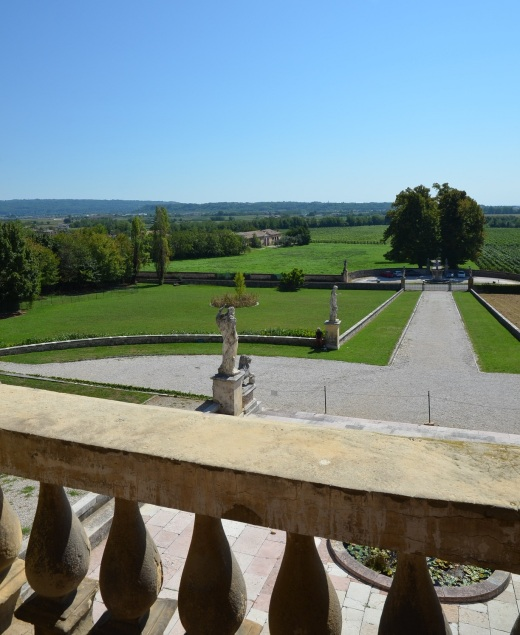 View from inside the Villa di Maser