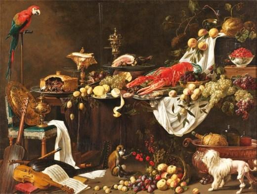 Flemish painter Adriaen Utrecht, 1644