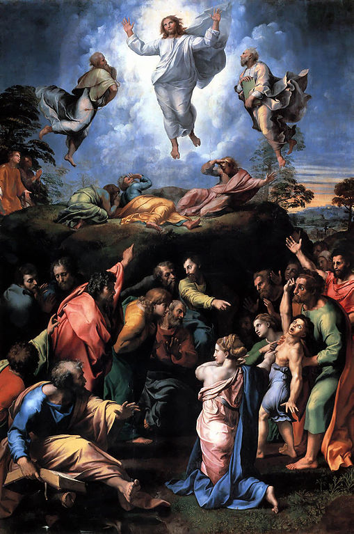 Raphael's Transfiguration of Christ