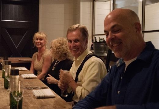 Friends Scott, Russ, Judi and Annie