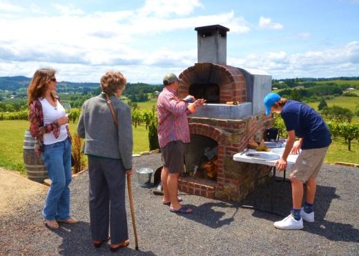 Lachini outdoor oven