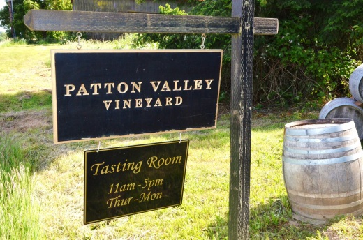 Patton Valley sign