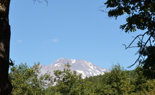 Mt Shasta from the deck
