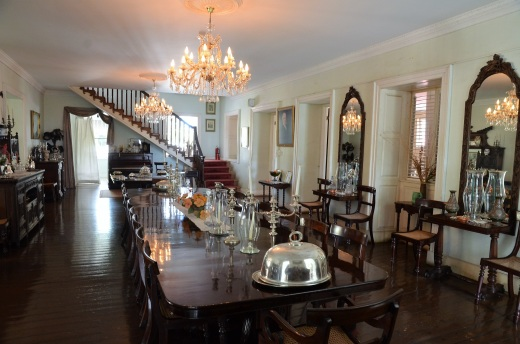 Plantation house dining room