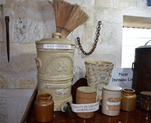 A collection of miscellaneous antique jars