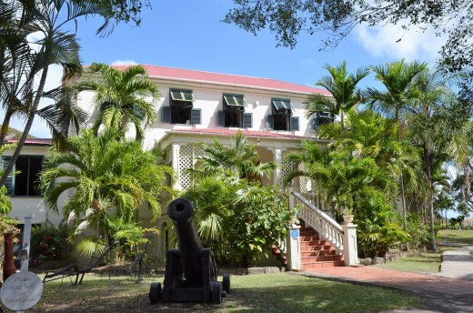 The Sunbury Plantation House on Barbados