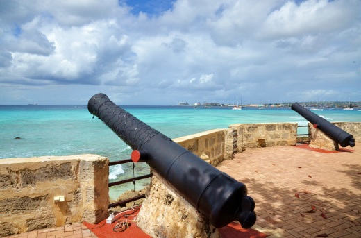 St. Ann's Fort just south of Bridgetown, Barbados