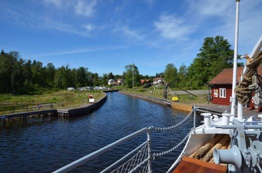 entering Forsvik