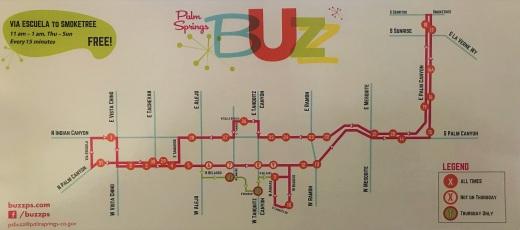 Buzz route