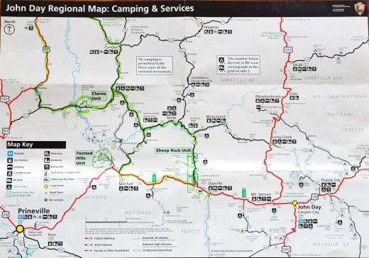 John Day map