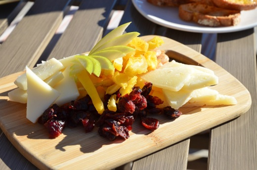 Domaine Serene cheese plate